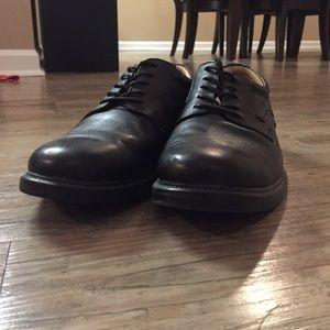 Stafford Black Dress Shoes